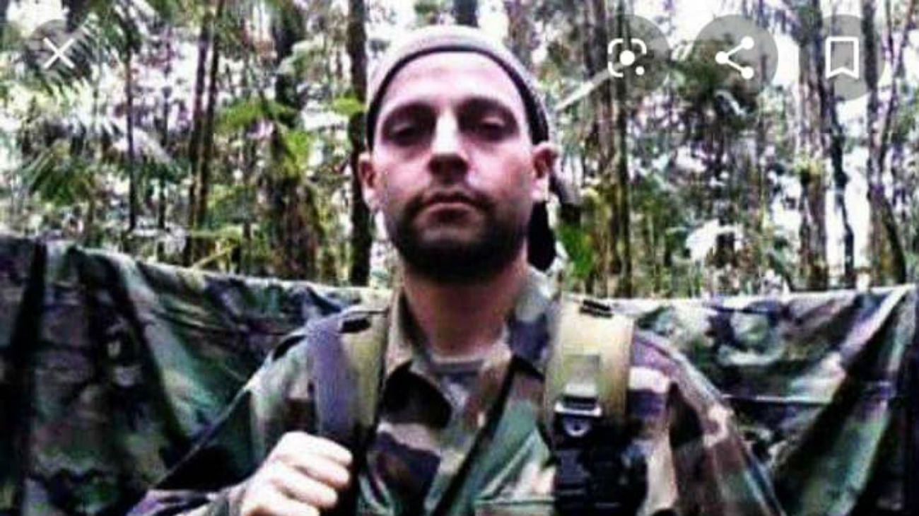 Facundo Molares Schoenfeld, alias Camilo el argentino, es el tercer extranjero que logró entrar en las FARC.