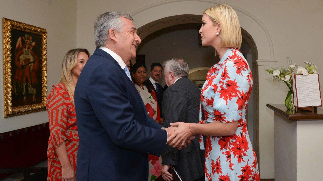 """Acusan a Gerardo Morales de """"planificar el golpe de Estado"""" con Ivanka Trump"""
