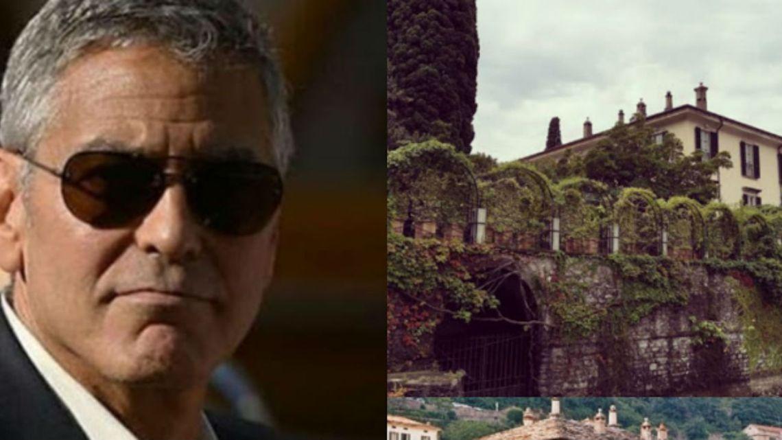 Conocé la increíble mansión de George Clooney donde se hospedan los famosos