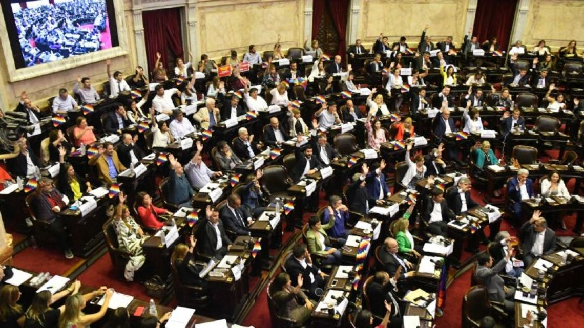 The Upper House of the Senate meets to deliberate whether or not what happened in Bolivia counts as a 'coup'