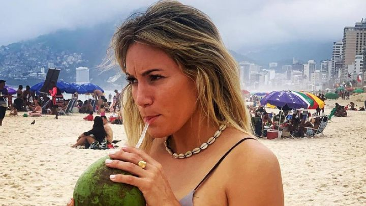 Rocío Oliva robó suspiros con una foto hot en bikini