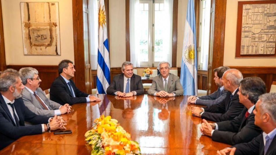 Alberto Fernández uruguay 14112019