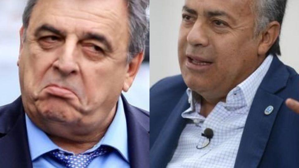 Alfredo Cornejo y Mario Negri, dos estilos radicales.