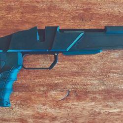 Un chasis KRA a la espera de recibir el arma seleccionada por el usuario. Un excelente y adaptable diseño.