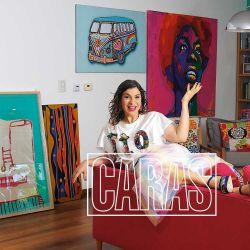Dalia Gutmann abre las puertas de su pintoresca casa de Colegiales