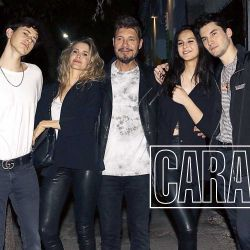 La primera salida oficial de Mica Tinelli y Lisandro López