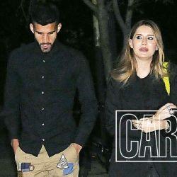 La primera salida oficial de Micaela Tinelli y Lisandro López, el jugador de Boca