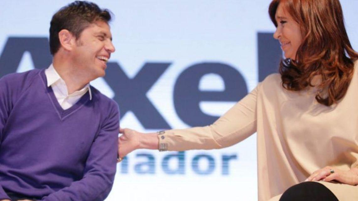 Axel Kicillof y Cristina Kirchner | Foto:Cedoc