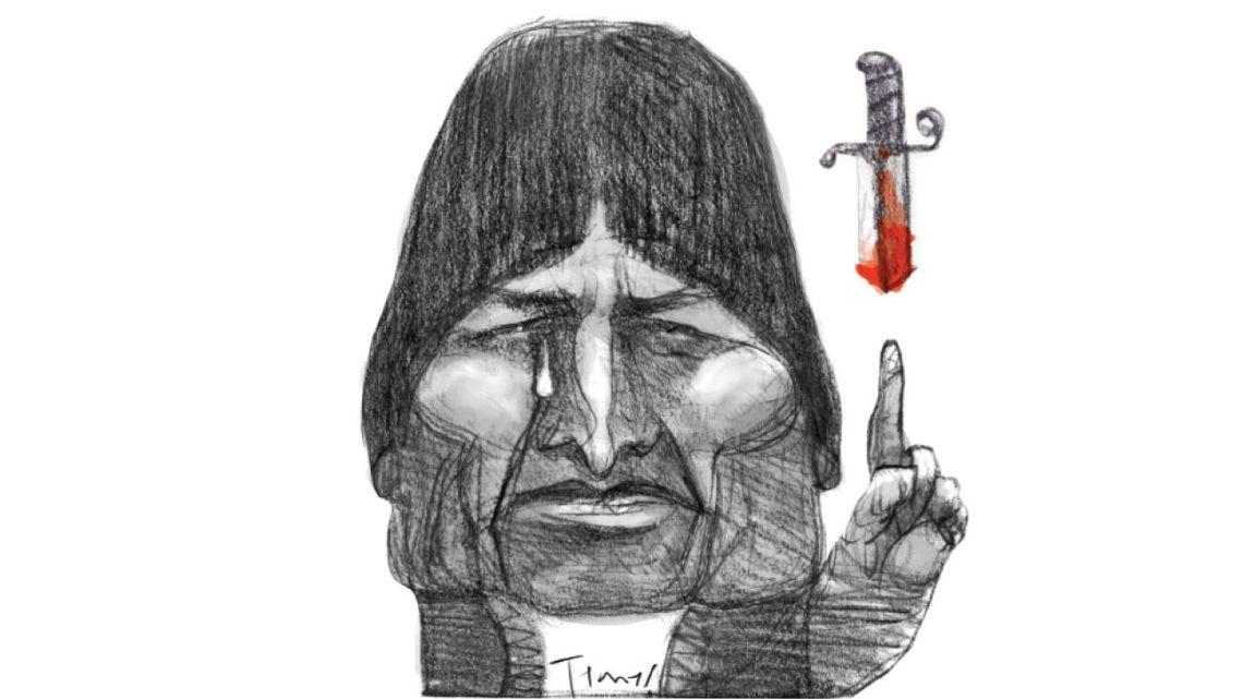 Evo Morales | Foto:Ilustración: Pablo Temes