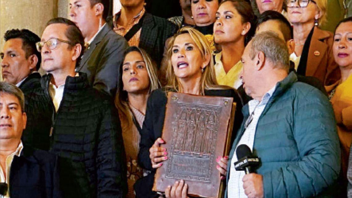 Jeanine Yáñez pertenece a un partido derechista de Beni, con dirigencia cercanas a las de la dura Santa Cruz de la Sierra, el bastión de Camacho. | Foto:Dpa