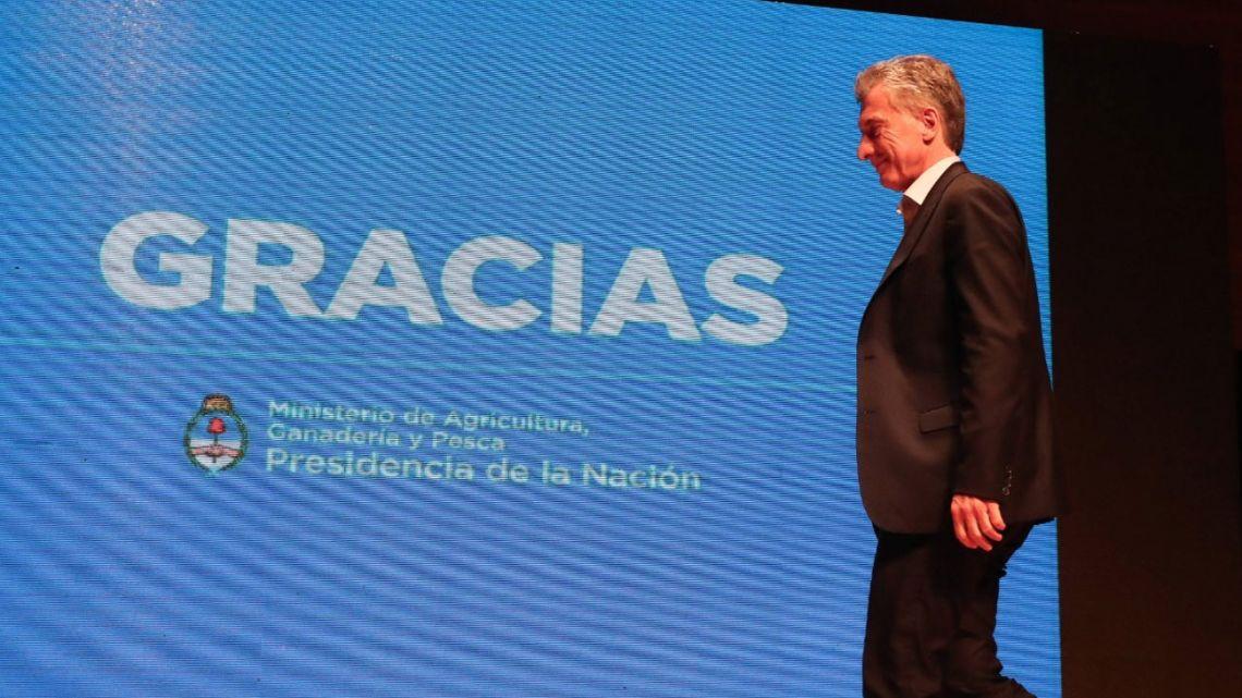 Mauricio Macri | Foto:Cedoc