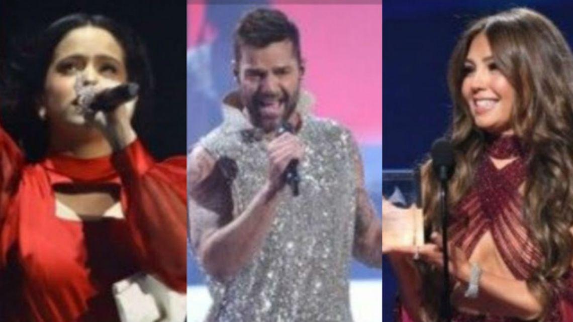 Topless y glamour: todos los looks de los Latin Grammy 2019