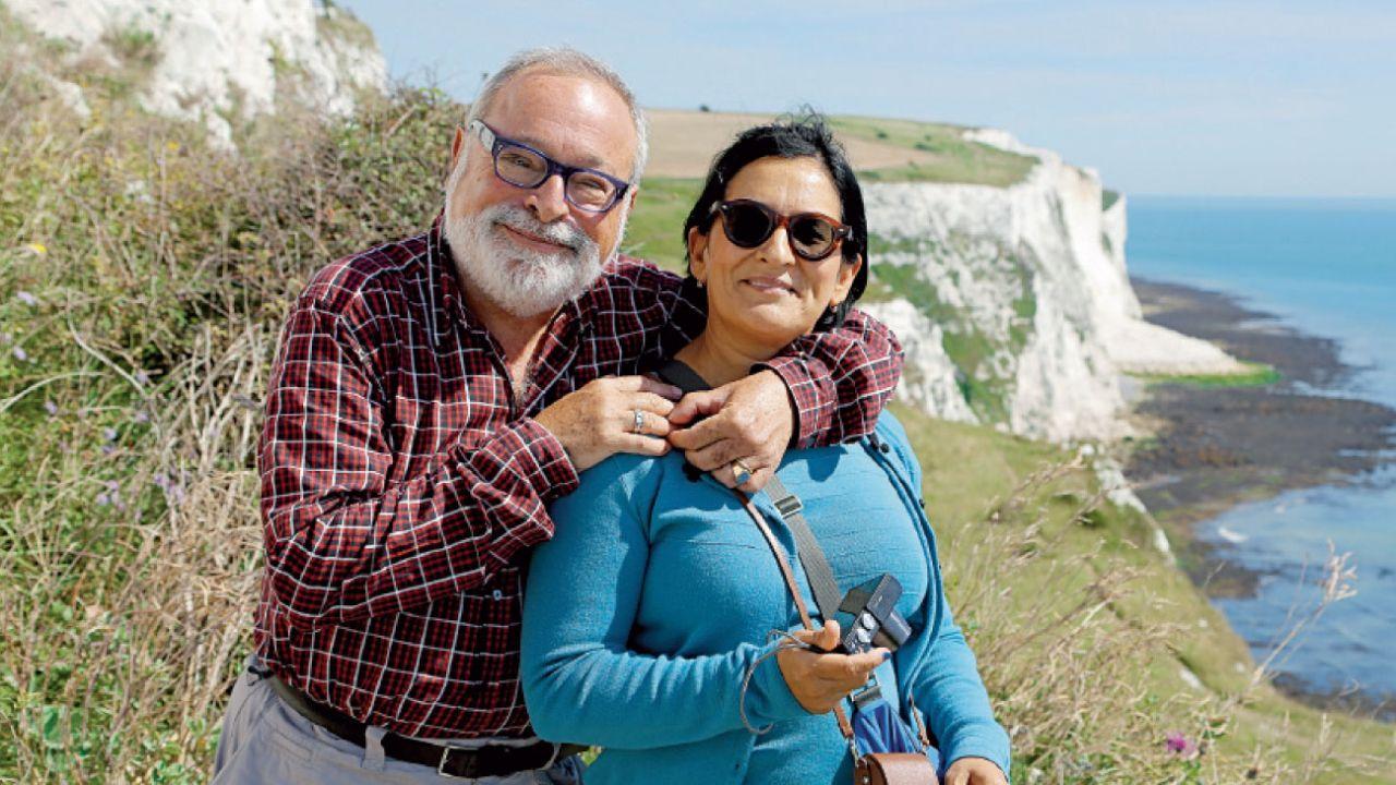 Sara Torres Marrero murió hace 4 años, después de 35 de vivir con Savater. Había nacido en Gran Canaria, pero vivió gran parte de su vida en el País Vasco. Los unió, además del amor, la literatura, el cine y la lucha contra el separatismo.    Foto:Gentileza Planeta