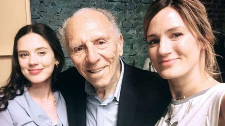 VIDEO | La emoción del abuelo de Delfi Chaves en el final de ATAV