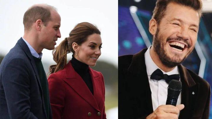 El curioso secreto que une a Marcelo Tinelli con el príncipe William