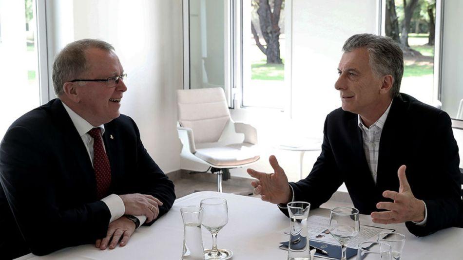 Alberto y Macri se reunieron con representantes de la petrolera Equinor