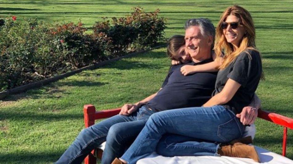Mauricio Macri, otra vez de vacaciones.