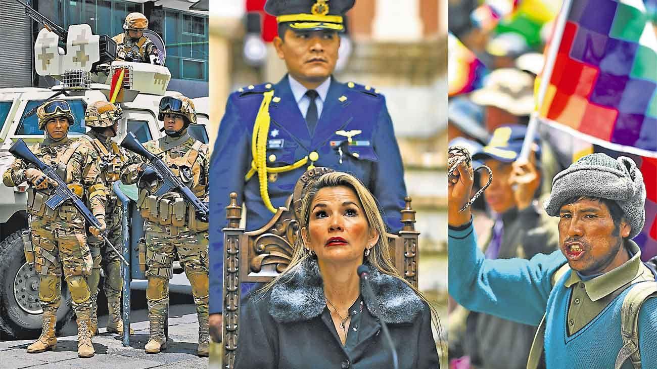 Añez amenaza con apresar a Morales si regresa a Bolivia