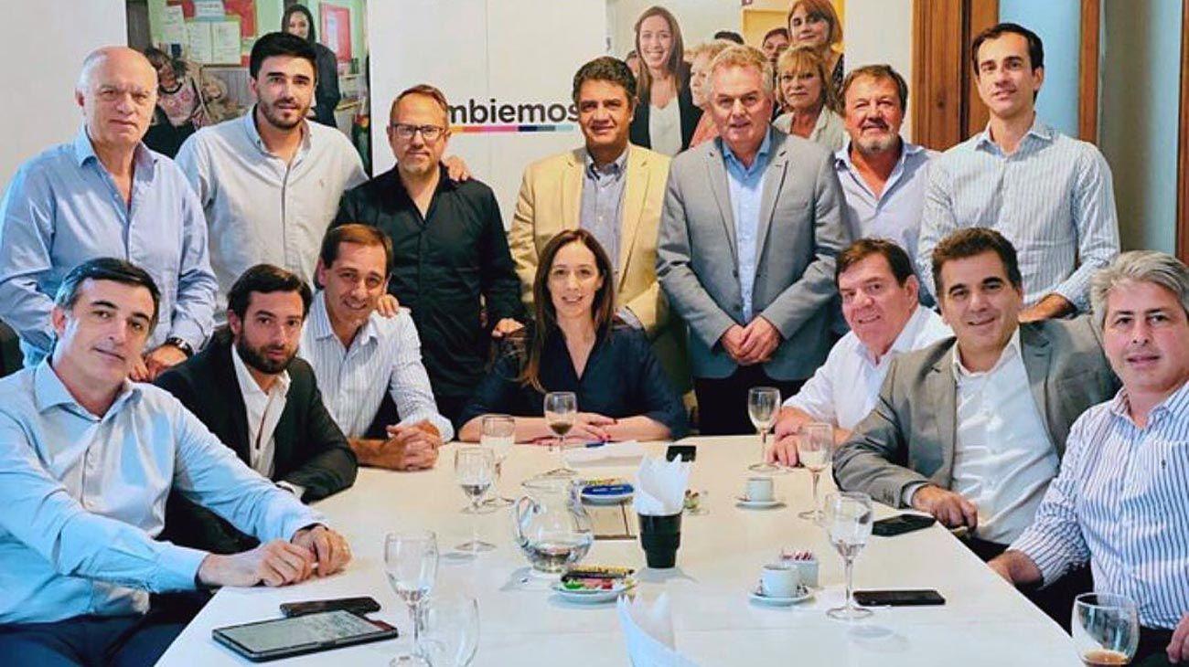 Vidal rearma su mesa de poder junto a intendentes