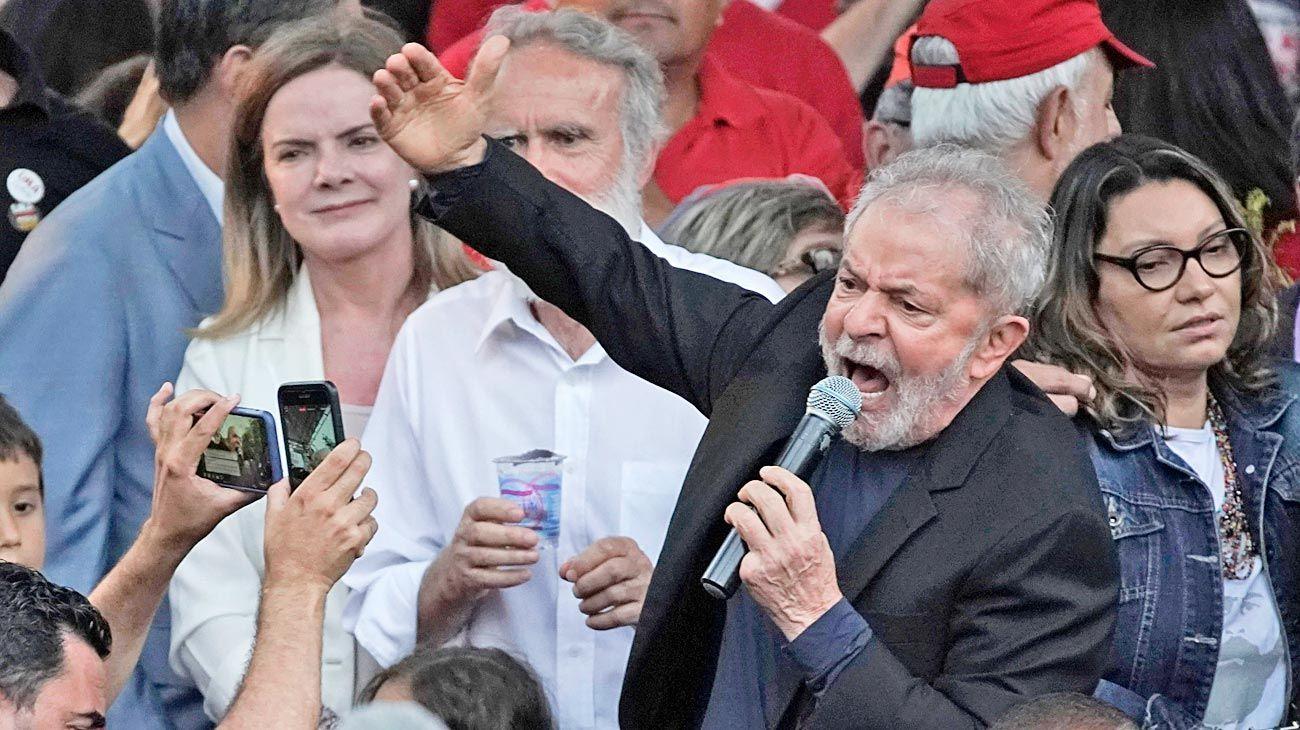 Lula. Su liberación reaviva conflictos judiciales y agitación callejera.