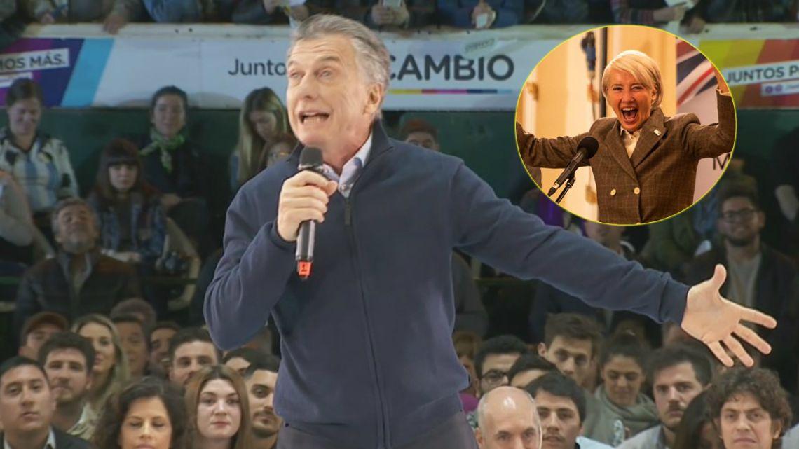El insólito error del video despedida de Mauricio Macri
