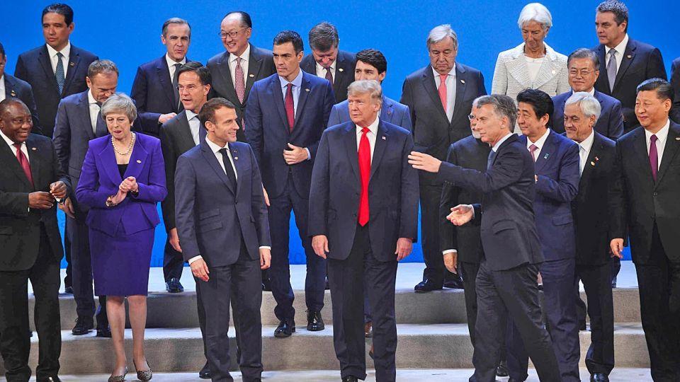 G20. Como anfitrión de la cumbre en 2018, Macri tuvo un rol protagónico entre los líderes mundiales.