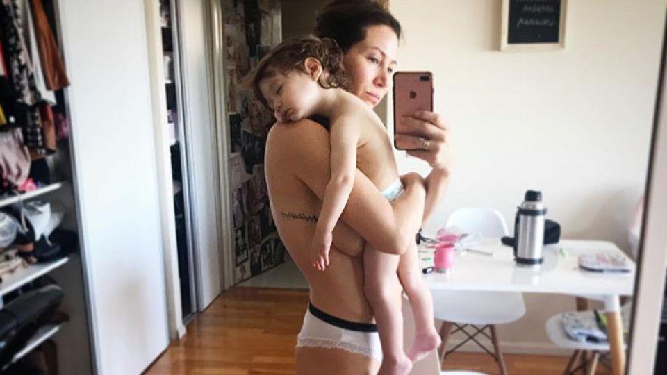 Adabel Guerrero y su hija Lolita