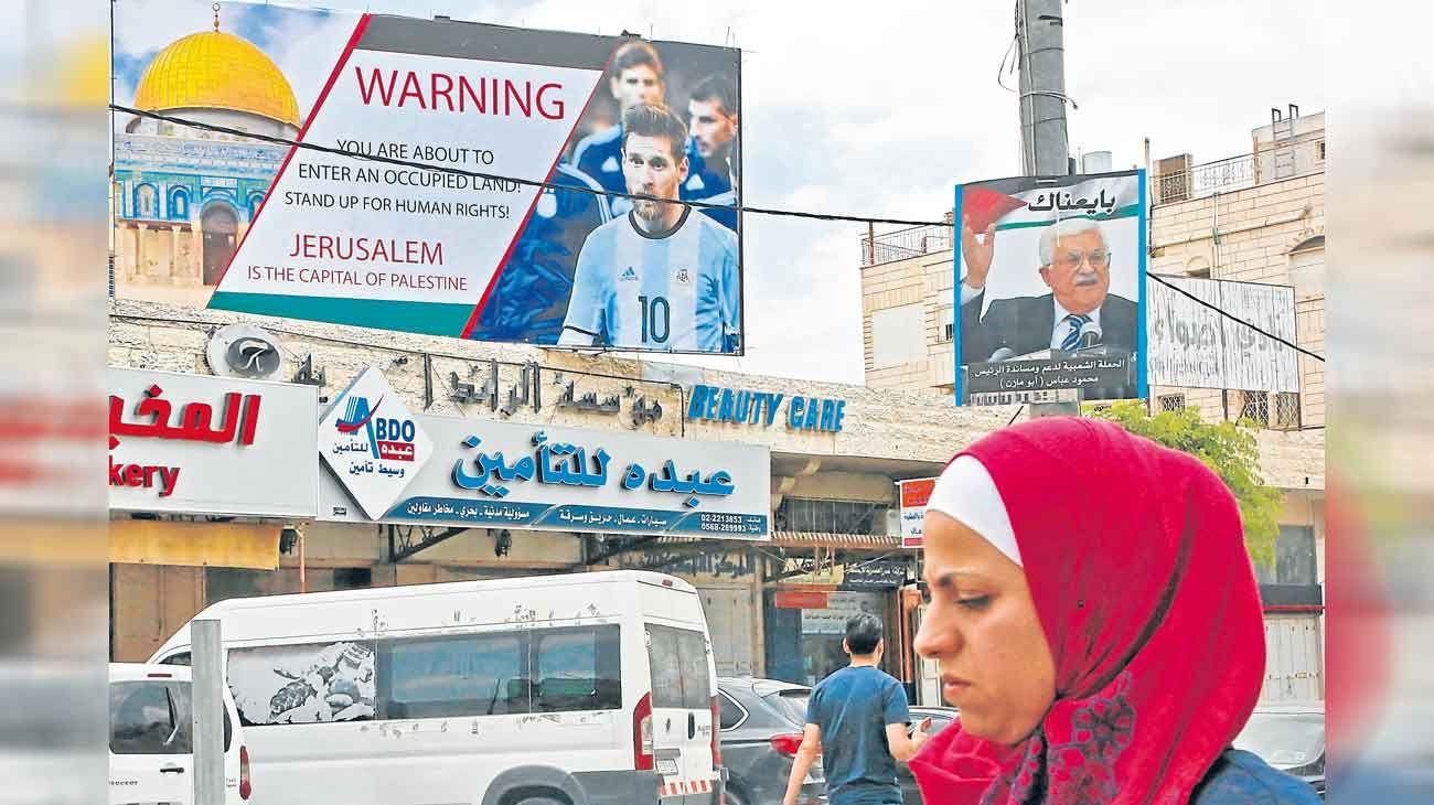 Pasado. En 2018 se suspendió un partido en Jerusalén por amenazas.
