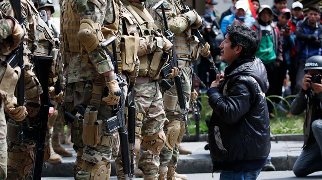 """Bolivia: incentivan la represión con un """"decreto supremo"""""""