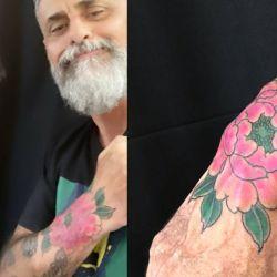 Jorge Rial se hizo un extravagante tatuaje