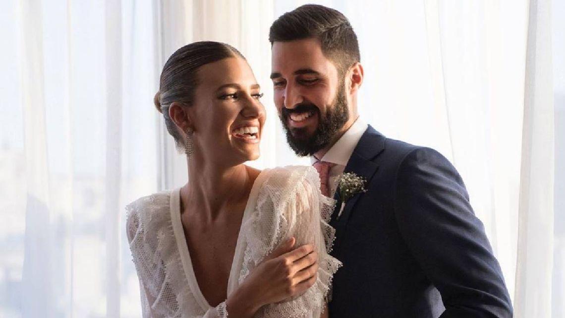Toda la intimidad de la exclusiva boda de Angie Landaburu y Tomás Eurnekian
