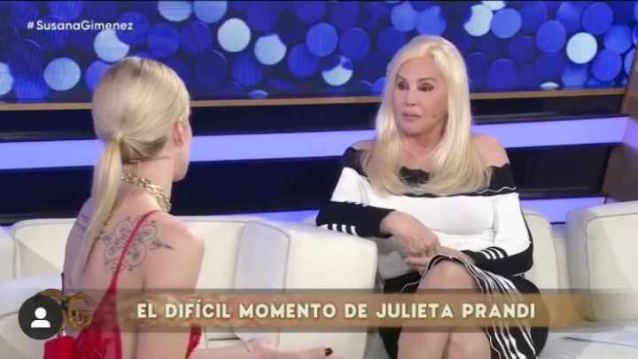 """Julieta Prandi en el living de Susana: """"Desconozco de qué trabajaba él"""""""
