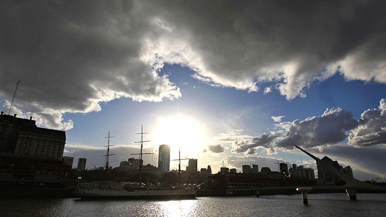 El clima del día empeorará de cara a la tarde.