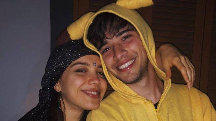 El romántico mensaje de Julián Serrano a Malena Narvay, ¡con disfraz incluido!