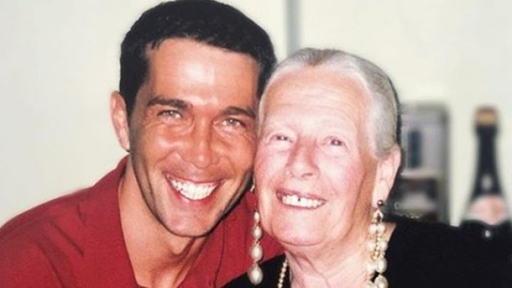 Rodolfo Barili, destrozado por la muerte de su abuela