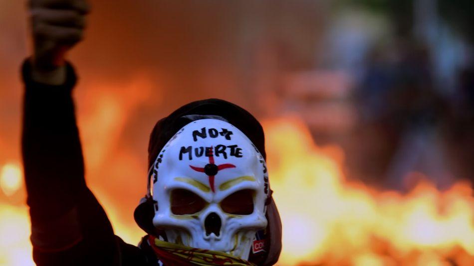 manifestaciones crisis en chile