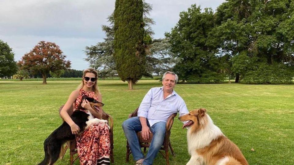 Alberto Fernández y Fabiola Yánez presentaron a un desconocido integrante de la familia presidencial