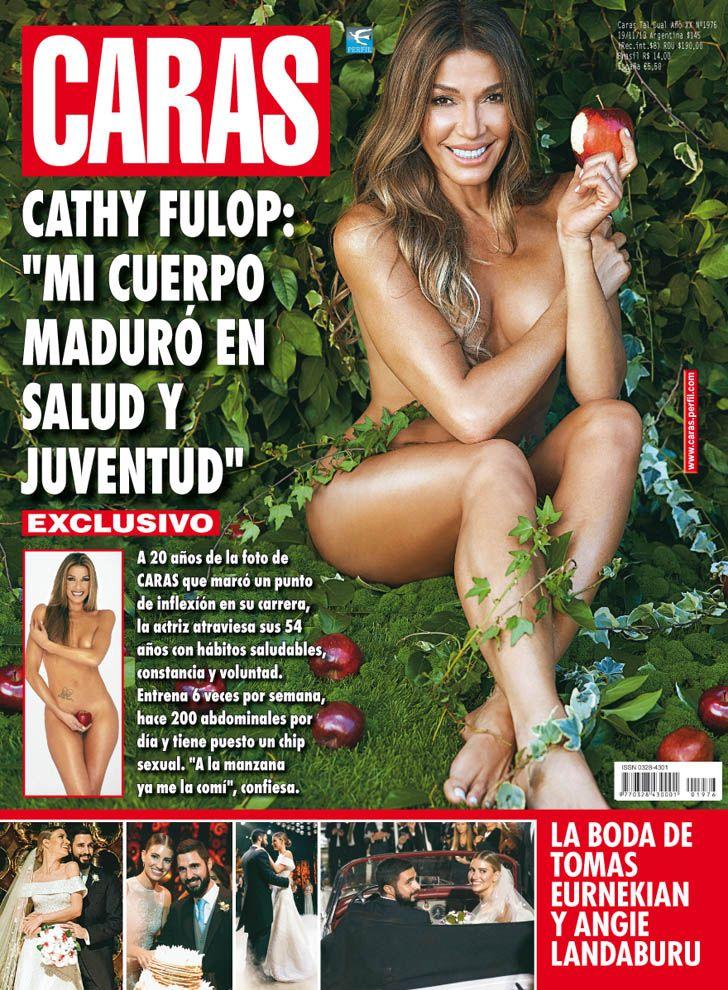 """Cathy Fulop: """"Mi cuerpo maduró en salud y juventud"""""""