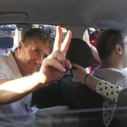 Amado Boudou en el penal de Ezeiza | Foto:Cedoc