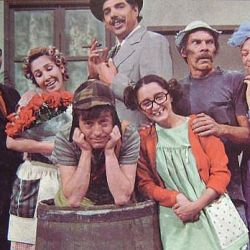 "La foto viral e inédita del elenco de ""El Chavo del 8"" en un cumpleaños"