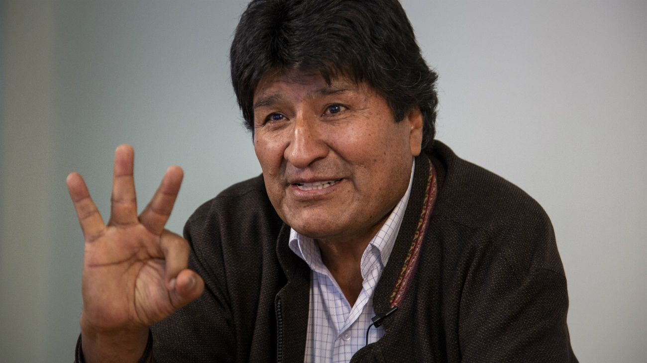 """Evo Morales: """"Sigo siendo presidente, no aceptaron mi renuncia ni la rechazaron"""""""