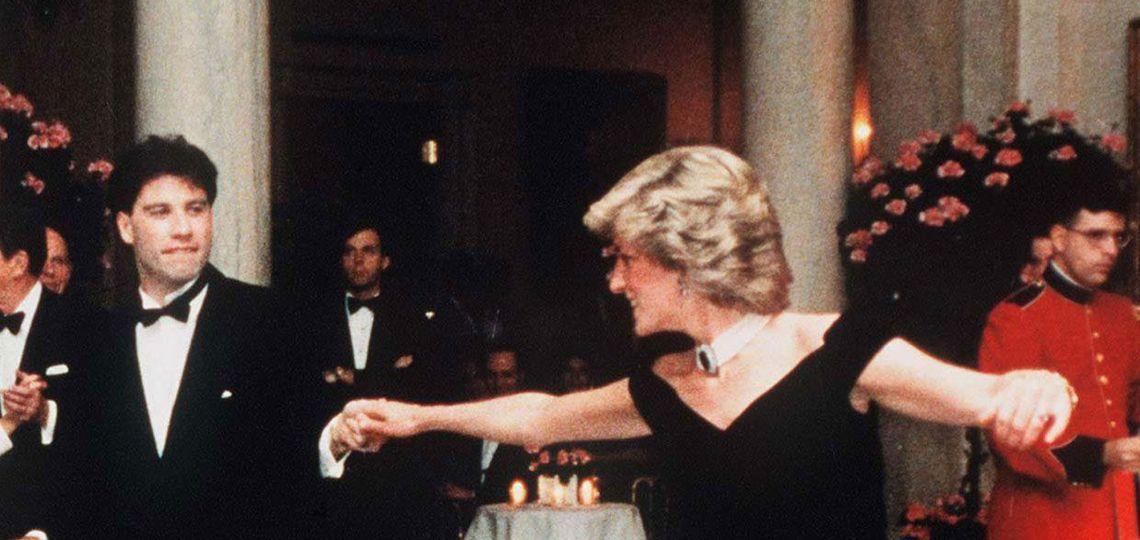 Se subasta el vestido con el que Lady Di y John Travolta hicieron historia