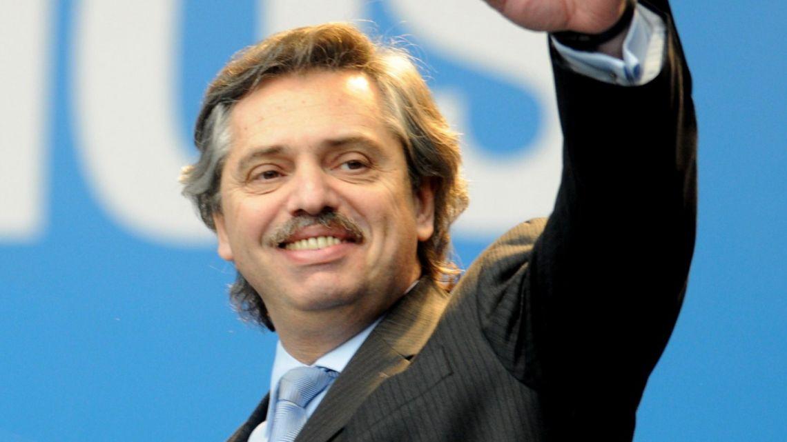Alberto Fernández cuando era jefe de Gabinete   Foto:Cedoc