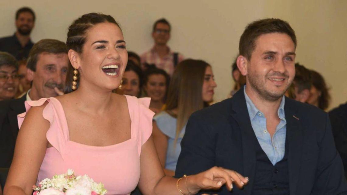Micaela Vázquez y Federico Larroca