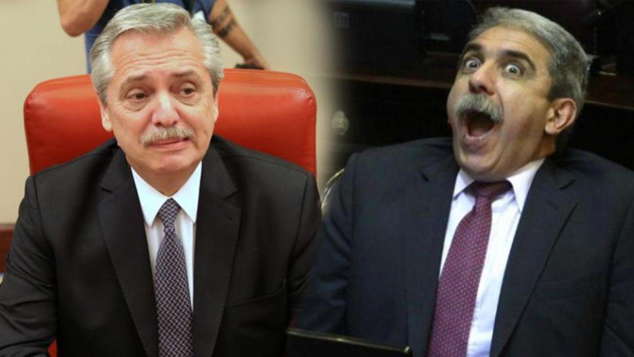 Alberto Fernández y Anábal Fernández | Foto:cedoc