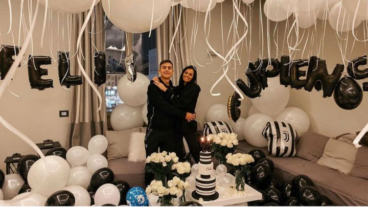 El recibimiento sorpresa de Oriana Sabatini a Paulo Dybala por su cumpleaños