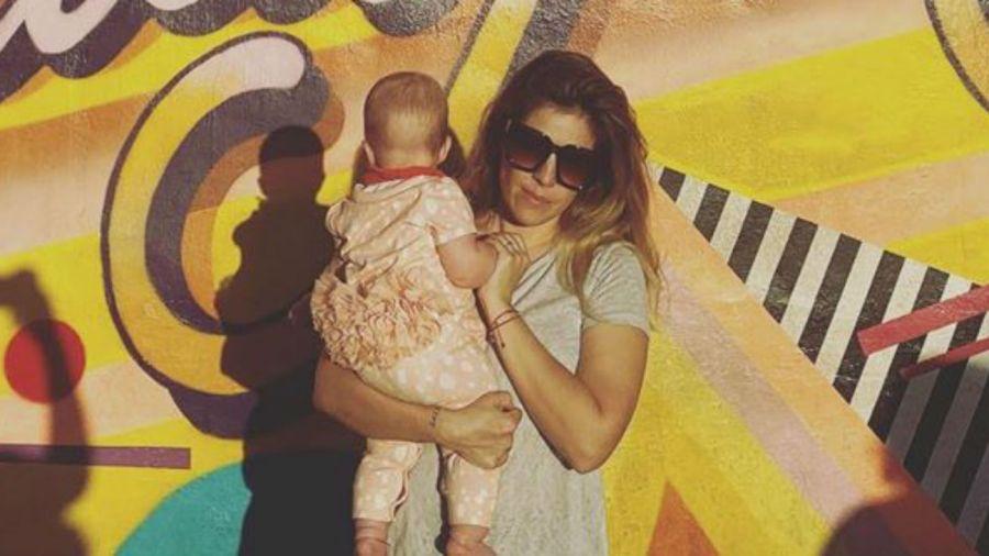 Dalma Maradona y su hija Roma