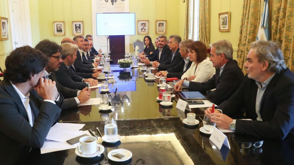 Reunión de Gabinete Macri 20191119