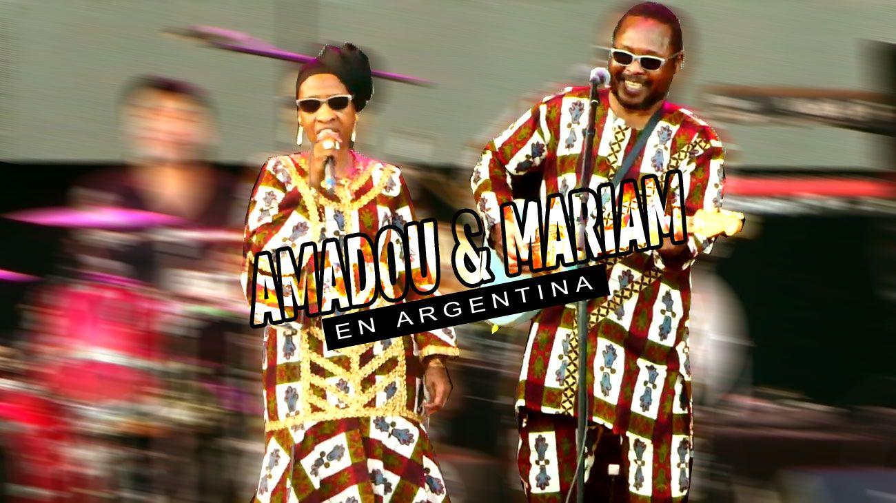 """Amadou & Mariam visitan la Argentina nuevamente presentando su nuevo Album """"Confusion"""""""