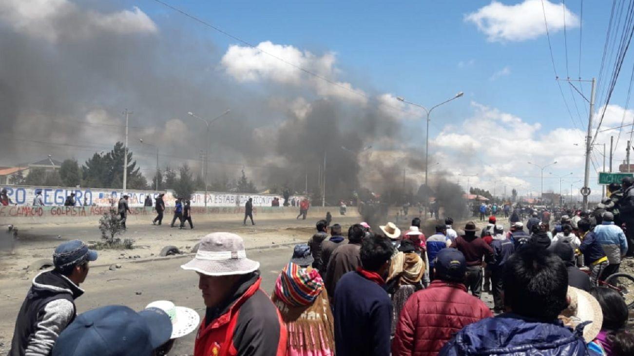 Crece la tensión en Bolivia: muertos y heridos durante un operativo militar en Senkata